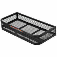 Universal Front ATV HD Steel Cargo Basket Rack Luggage Carrier Mesh Surface