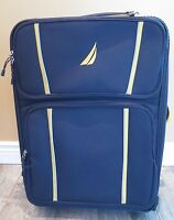 Preowned NAUTICA 28quot; Starboard Collection Wheeled Trolley Blue Yellow