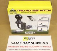 Hitch 2 inch Ball 1.25 in. Receiver ATV TEK Four Wheeler UTV Garden Tractor TMP1
