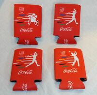 Coca Cola Rio 2016 Olympics Koozie Games Can Cooler Volleyball Golf Paralympic