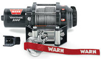 Warn ATV Vantage 2000lb Winch w/Mount 2005-2011 & 2013 Arctic Cat500cc 4x4