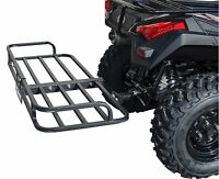 ATV CARGO RACK QUAD 4 WHEELER CARRIER REAR HITCH MOUNT RECEIVER BALL UTV MUV 2