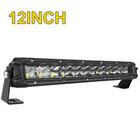10D QUAD-ROW 42INCH 3360W LED LIGHT BAR COMBO OFFROAD 4WD TRUCK ATV White
