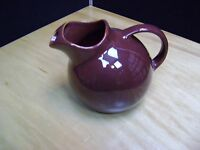 EL PATIO Gladding McBean (GMB) Franciscan Pottery lce Lip Ball Jug, Brown