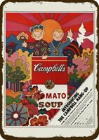1968 CAMPBELL SOUP KIDS PSYCHEDELIC 60's ART Vintage Look REPLICA METAL SIGN