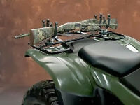 Moose ATV Gloss Black Double Gun Rack - 3518-0027
