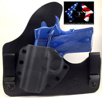 SOB SMALL OF BACK HOLSTER LEATHER KYDEX HYBRID CONCEALED CONCEPT HOLSTER