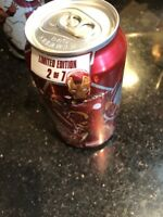 Avengers Age Of Ultron Dr. Pepper Can Full Iron Man 2 Of 7