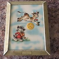 Vtg Hey Diddle Diddle Tin, The Metal Box Co. Made In England 1946, MINTY