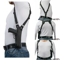 Akar Right Hand Vertical Shoulder Holster Fits  S&W M&P 9,40,357,45 & Similar