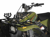 ATV Double Gun Bow Mount Tool Holder Graspur Protective All Terrain Pack Rack