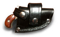 NAA Mini & Magnum Leather CROSSDRAW DRIVING Holster (RH) BLACK