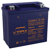 VMAX XCA200R14 ATV BATTERY UPGRADE Honda 500cc FourTrax Foreman 4x4 2005-2009
