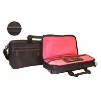 Buffet Crampon nylon double compartment / case cover with shoulder strap Bb pimk