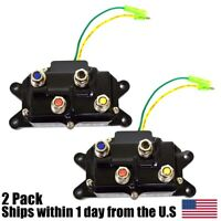 (2) ATV Winch Contactor Solenoid Relay Switch For Warn # 63070 62135 74900 28757