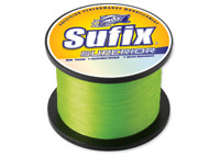 Sufix Superior Monofilament Fishing Line, 50 Lb., 2405 Yds, Hi-Vis Yellow