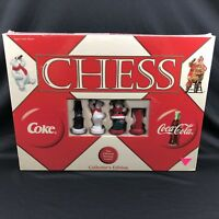 Coca Cola VS Coke Chess Set Game Collectors Edition Holiday Christmas Sealed New
