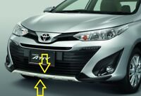 FRONT BUMPER COVER SILVER GENUINE PARTS FOR TOYOTA YARIS ATIV 2017 2019