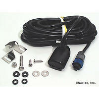 Lowrance® Transom Mount Transducer with Temp. Sensor