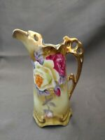 Nippon hand-painted Creamer  5 1/4