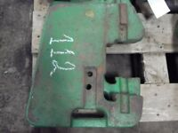 John Deere tractor suitcase weight  100 lb. Part #R51680 Tag 112