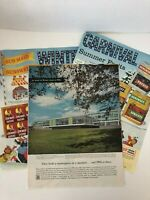 Various Vintage Magazine Advertisements Loose Lot 1950's Collectible ads