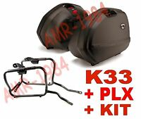 Set Suitcases Side K33 + Frame Yamaha Fz1 1000 Plxr359 +Plx359kit Quick