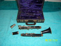 Normandy  clarinet  Tech tested & It plays may need adjustment sold as is no MP