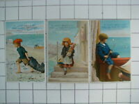 Lautz Bros Circus Soap Lot of 3 Trading Cards