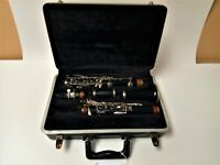 Vintage Selmer Signet B-Flat Wooden Clarinet With Hard Shell Case Ready To Play