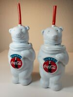 2 VINTAGE ALWAYS COCA COLA 9 1/2