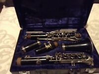 Vintage Yamaha Clarinet With Robert Marcellus Mouthpiece