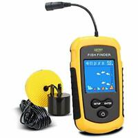 LUCKY Handheld Fish Finder Portable Fishing Kayak Fishfinder Depth Gear With LCD
