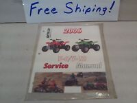 quot;NEWquot;Arctic Cat Youth ATV Service Manual FREE SHIPPING