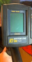 "CABELAS ""Fishin Buddy 2201"" Bottom Line Side Finder FISHFINDER Great Shape WORKS"