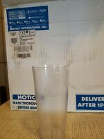 Case of 72 Pepsi Restaurant Tumblers Cups Clear Script 24 oz Free shipping