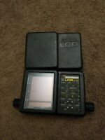 Humminbird LCR 4 ID Monitor Fish Finder LCR 4 ID Main Head Unit and Cover