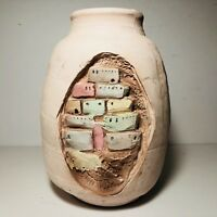 Comanche Land Great Southwest Imports Pottery Vase McCrea Tierra 9 1/2