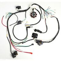 COMPLETE ELECTRICS ATV QUAD 200CC 250CC CDI COIL WIRING HARNESS ZONGSHEN LIFAN