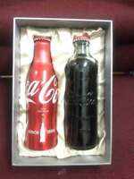 Rare china coca cola 125th Limited-edition aluminium bottle box empty