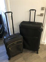 Set of TWO Tumi Alpha 4 Wheel Expandable Suitcases - 1 Checked & 1 Carry On