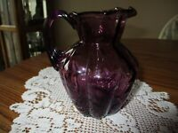 Fenton Amethyst Purple Pitcher