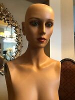 Vintage Female Mannequin Torso Body