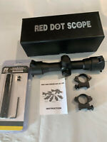 Ruger 10/22 Scope Mount With Red Dot Sight Combo 10-22 10 22 NEW