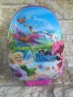 Heys Disney Tinkerbell Hard Rolling Suitcase Luggage Carry On Kids Girl