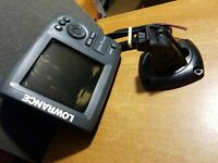 Lowrance Elite-5 HDI Fishfinder Faded Screen Issue Power Cord Mount