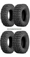 Set of 4 Sedona Coyote ATV/UTV Tires (2)25-10-12 + (2)25-8-12  6 ply New Tech