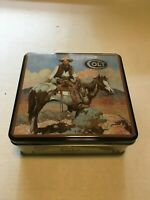 Collectible Colt Firearms Tin Box - Hinged Lid