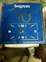 Vintage Seagram's VO Wall Clock