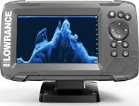 Lowrance HOOK2 5 - 5-inch Fish Finder with TripleShot Transducer and US Inlan...